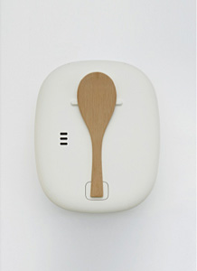 RICE COOKER WITH RICE PADDLE