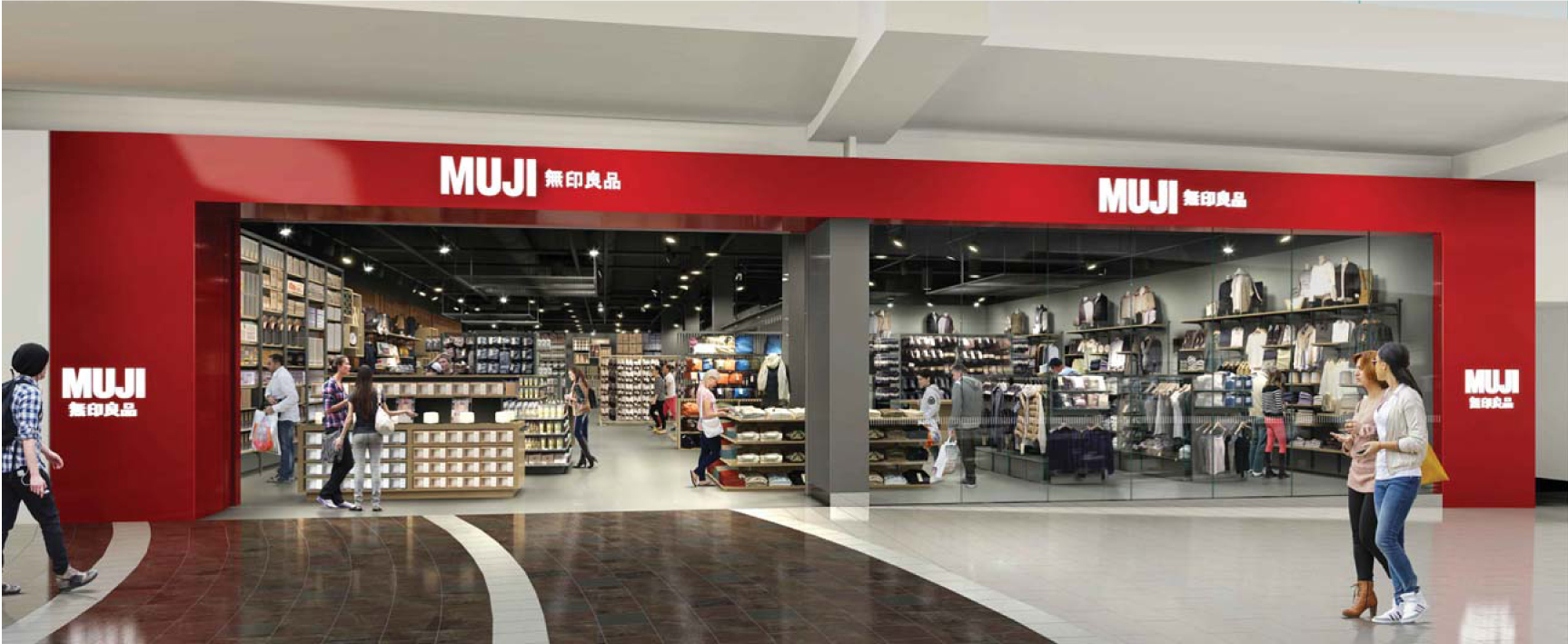 muji garden state plaza muji usa. Black Bedroom Furniture Sets. Home Design Ideas