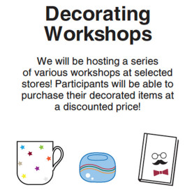Decorating Workshops Informations