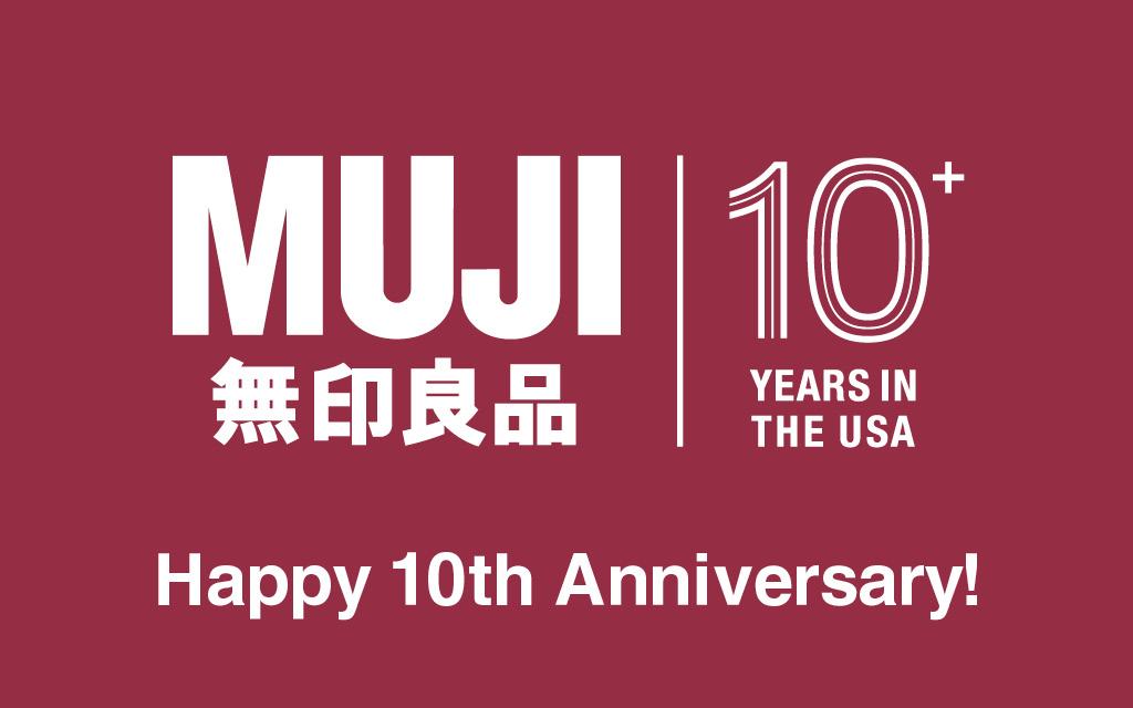MUJI - 10th Anniversary