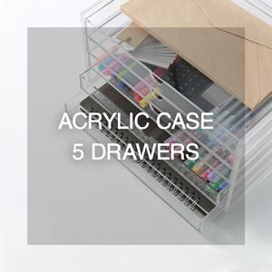 Acrylic 5 Drawers