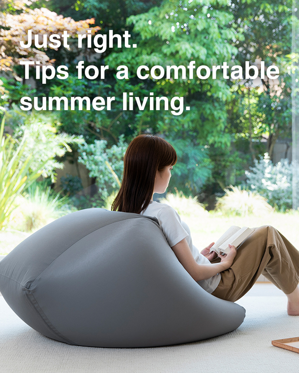 Tips for a comfortable summer.